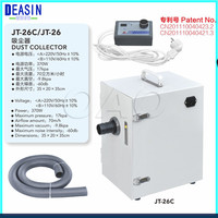 Free shipping Dental Equipment Dental Lab Laboratory Single row Dust Collector Vacuum Cleaner JT 26/C for Dental Laboratory