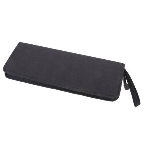 artist bag Price - foldable Oxford cloth zipper Artist brush Bag Case Holder - Black
