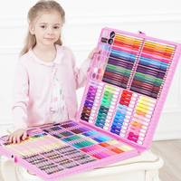 DINGYI 108/168/288pcs Drawing Tools Art Painting Set Watercolor Marker Brush Pen For Kids Gift Art Supplies School Stationery