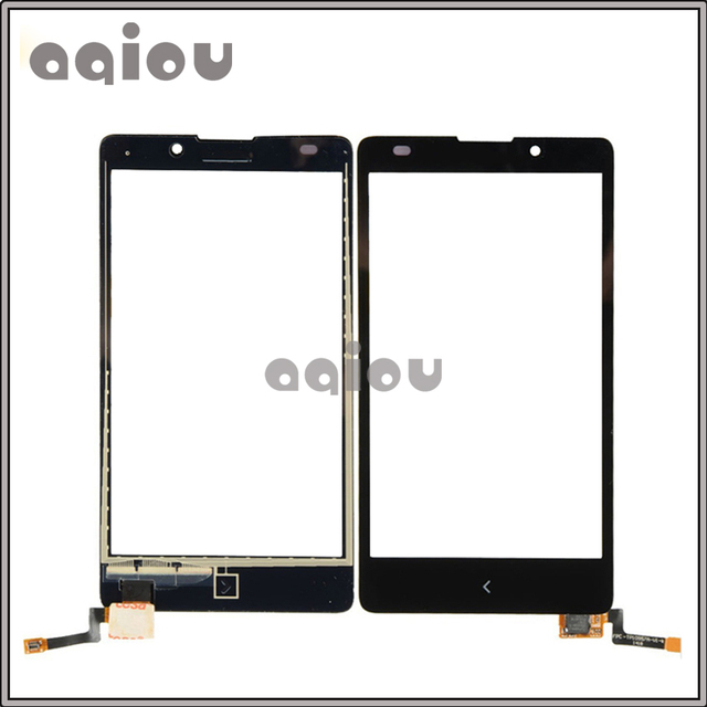 "10pcs/lot 5.0"" For Nokia XL Dual Sim RM-1030 RM-1042 Touch Screen Digitizer Front Glass Lens Sensor Panel Free shipping"