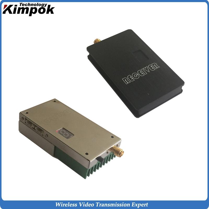 High Quality 5.8GHz 1200mW FPV Transmitter and Receiver 30km LOS UAV/UGV Wireless Video Transmitter CCTV Transmission