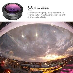 Image 3 - Apexel HD 170 lente de videocámara Super gran angular para lente Dual lente única iPhone,Pixel,Samsung Galaxy todos los teléfonos inteligentes para xiaomi