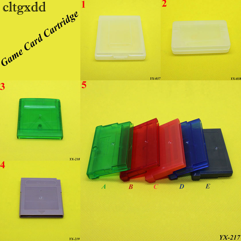 Plastic Game Cartridge Cases Storage Box Protector Holder Dust Cover Replacement Shell For Nintendo Game Boy Gameboy GBA