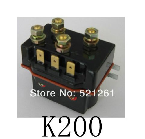 ZJW50A SW60 contactor dc contactor for electrical winch k200 good quality dc reversing contactor dc182b 537t for forklift 48v 200a zapi b4dc21