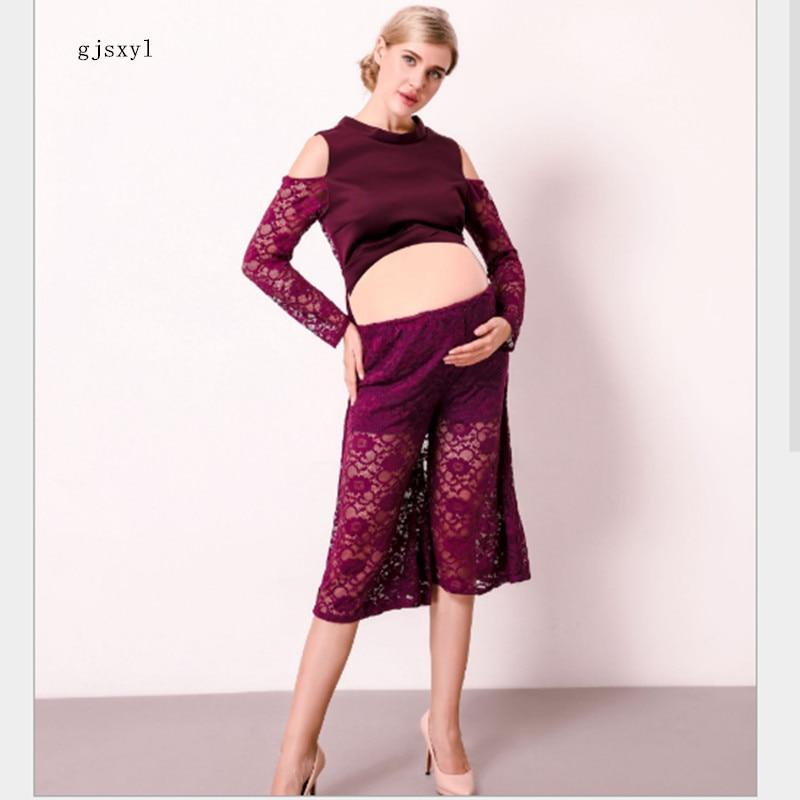 gjsxyl 2017 new sexy fashion pregnant women skirt photo studio maternity photo photo maternity Mommy photo clothing