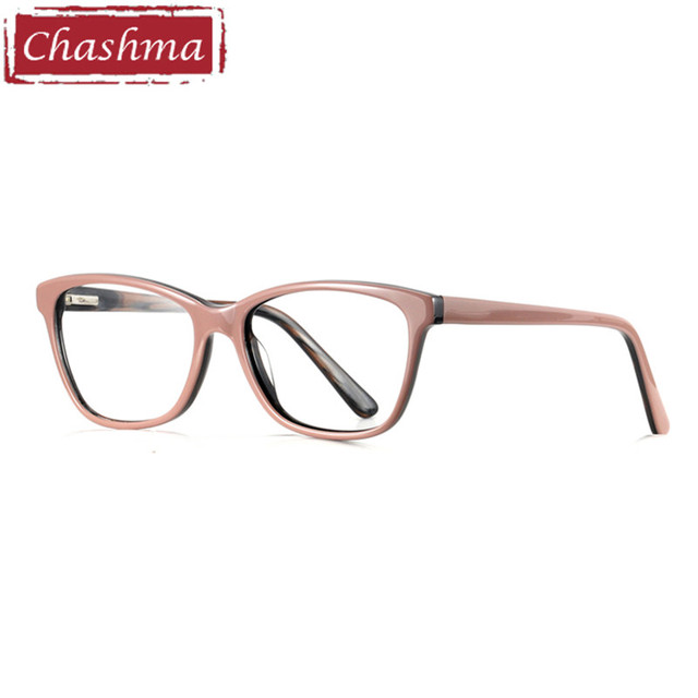 12d7126c0e Chashma Brand Acetate Material Female Eyewear Fashion Trend Stylish  Students Prescription Glasses Frame Mens Optical Eye Glasses