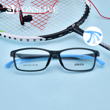 Anti-Slip Optical Prescription Glasses Men Square TR90 Sport