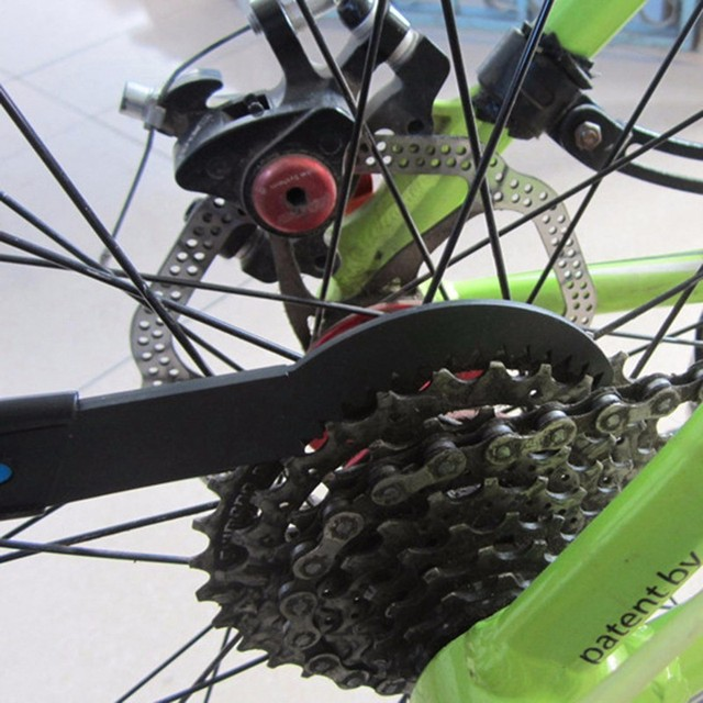 Chain Cleaner Tool Brushes mountaineer protector Cycling Bike speed Black Bicycle wings crank chainwheel campagnolo single