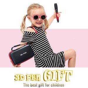 Image 2 - SMAFFOX 3D עט עם 12 צבעים 36 מטר PLA נימה הדפסת עט תמיכה ABS וpla ילדים Diy ציור עט עם LCD תצוגה