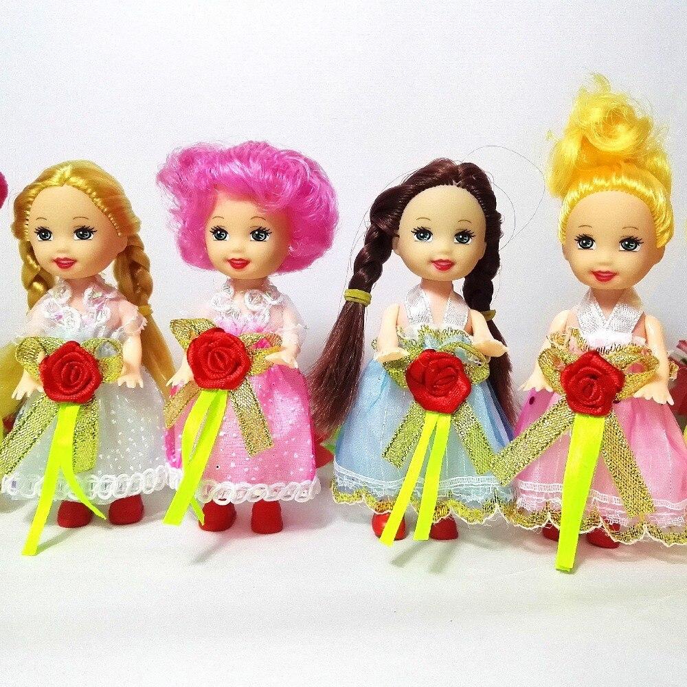 4 Buah Banyak Lucu Boneka Mainan Bergerak Sendi Tubuh Dengan Pakaian Kelly Dolls Campuran Gaya Gilrs Plastik Hadiah Terbaik Gambar Untuk Barbie Joint Body Moveable Jointdoll Toys Aliexpress