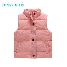 2017 Spring Girls Vest Warm Kids Vest Baby Girls Autumn Waistcoat Children Jackets 6-12y Toddler Girls Clothing kids Outerwear