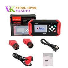 XTOOL HD900 Heavy Duty Truck Code Reader Support J1939 J1708 Protocol Update Online