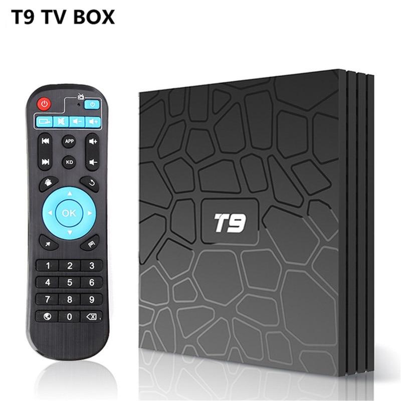 T9 TV Box Android 8.1 RK3328 Quad Core 4G/32G USB 3.0 Smart 4K Set Top Box Optional 2.4G/5G Dual WIFI Bluetooth t9 android 8 1 tv box bluetooth 4 0 rk3328 quad core 4gb ram 64gb rom usb 3 0 smart 4k hd set top box optional 2 4g 5g dual wifi