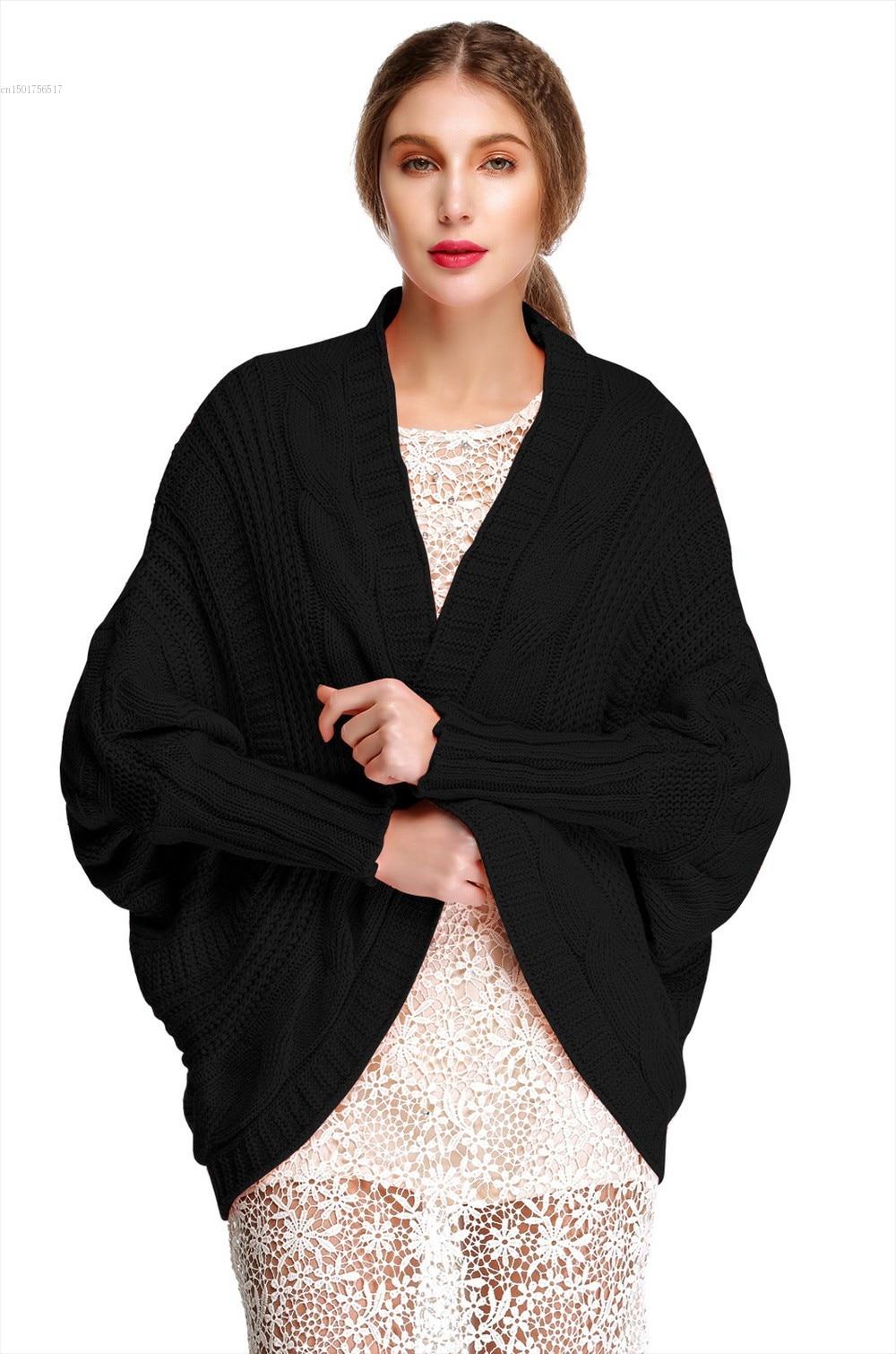 New Korean Loose Twist Pattern Sweaters Tops Bat Sleeves Knitted ...