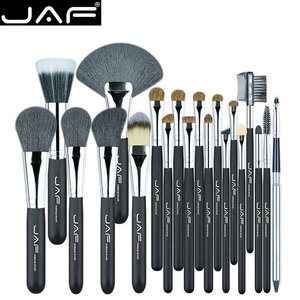 JAF Studio 20 Pcs/Set Makup Brushes Premiuim Natural Hair of Goat & Pony Horse Super Soft Makeup Brush Tool Set J2001PY-B(China)