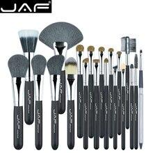JAF Studio brosses de maquillage, lot de 20 pièces/ensemble de brosses de maquillage, cheveux naturels de chèvre et de poney, Super doux, J2001PY B