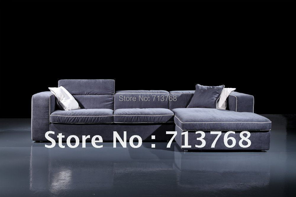 Mobilier moderne / salon tissu coin / coupe fonction sofaMCNO9049 ...