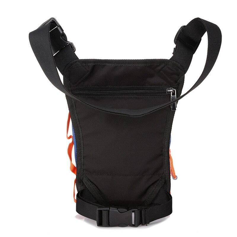IVOTKOVA Men Nylon Ride Leg Bag Drop Fanny Waist Bags Belt Purse Military Motorcycle Riding Waist Leg Bag Crossbody Bag in Waist Packs from Luggage Bags