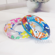 Cartoon high quality color underwater world pattern swimming circle childrens aid pool