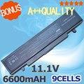 6600 mah 9 celdas de batería para samsung r519 r522 r523 r538 r540 R580 R620 R718 R720 R728 R730 R780 R467 R468 AA-PB9NC6B AA-PB9NS6B