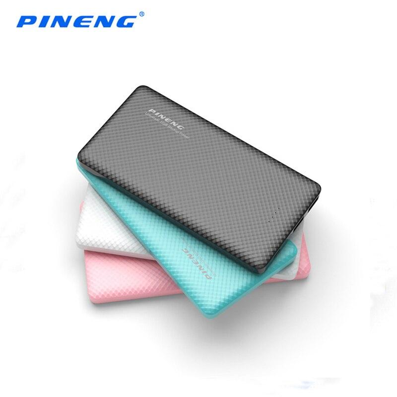 imágenes para Original PINENG 10000 mAh Powerbank Portátil con Salida USB Dual Pantalla LED Batería de La Energía Externa para el iphone LG Xiaomi Samsung