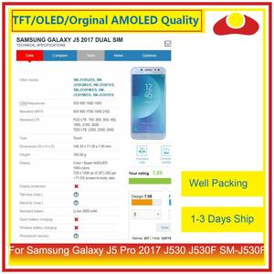 Image 4 - ORIGINAL For Samsung Galaxy J5 Pro 2017 J530 J530F SM J530F LCD Display With Touch Screen Digitizer Panel Pantalla Complete
