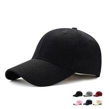 Adjustable Men's Baseball Caps Summer Plain Curved Sun Visor