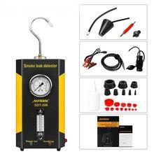 AUTOOL SDT-206 машина для дыма автомобиля на продажу для автомобилей локатор утечки автомобильный диагностический детектор утечки SDT206 диагностический инструмент