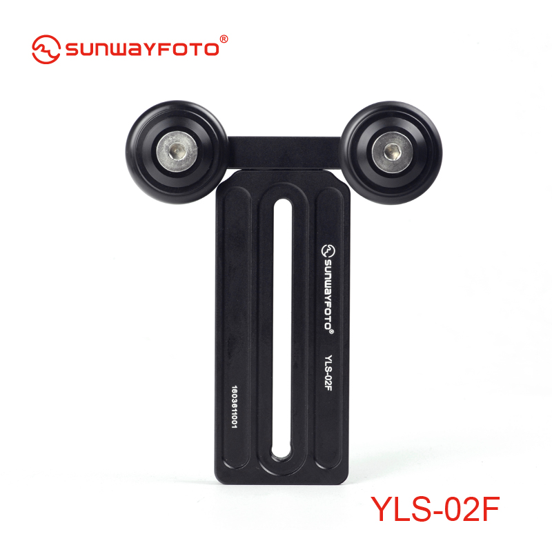 SUNWAYFOTO YLS-02F Tripod Quick Release Plate Lens Plate Telephoto Lens Support Lens bracket Fro Canon Nikon Sigma Tamron