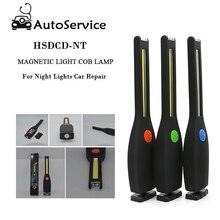 COB LED Arbeit Licht LED Taschenlampe Magnetische Haken COB Lampe Arbeit Lampe Taschenlampe Hand Lampe Für Nacht Lichter Auto Reparatur