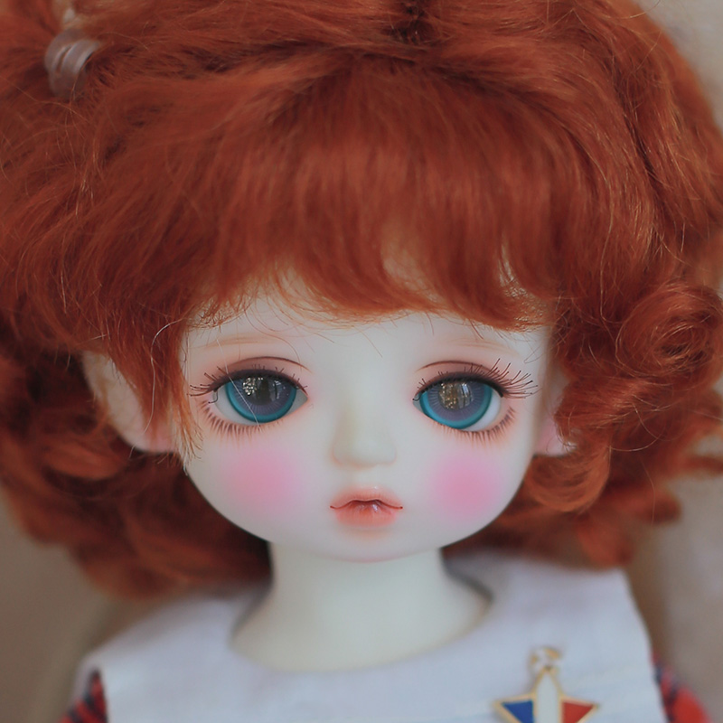 New Colorful Rose 14mm Glass Eyes for Joint Reborn//NewBorn 1//4 BJD Dollfie