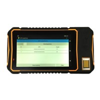 Handheld Terminal 7 Rugged Android Waterproof Tablet Mini PC 1D 2D Barcode Scanner Fingerprint Reader GPS RFID UHF NFC 10000mah