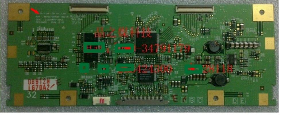 Lc320w01 a6 k6 logic board 6870c-0043b FOR printer lc320w01-a6k3  T-CON connect board 6870c 0470a t con logic board forld470duj sfe1 k31 cpcb printer t con connect board