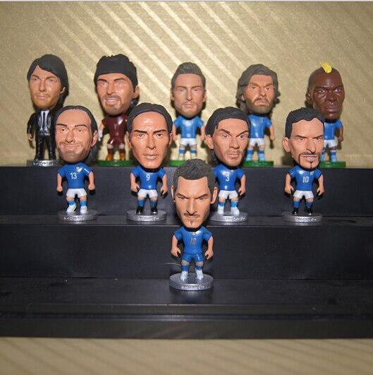 (5 Pcs/set) KODOTO Italy national team Football Soccer Player star collection dolls cartoon toys