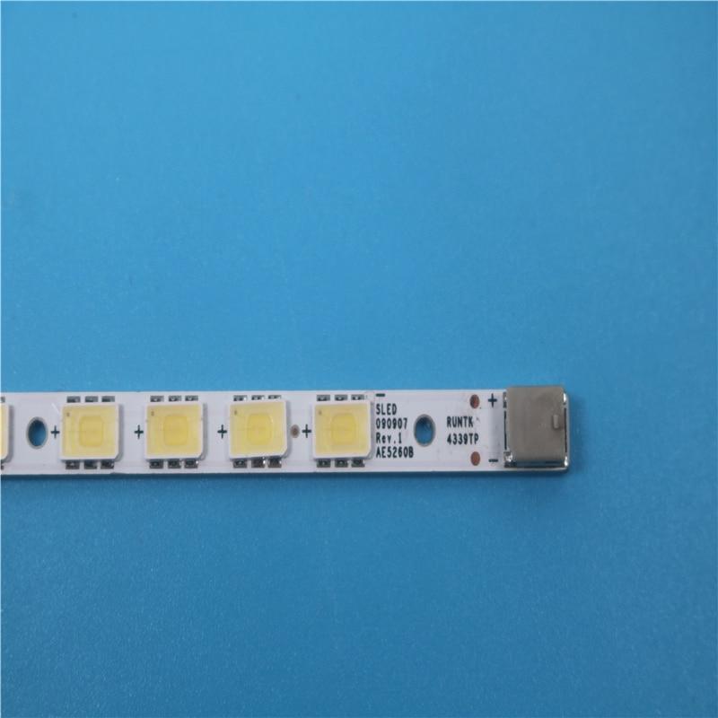 100% New And Original RUNTK4339TP SLED 090907 REV.1 AE5260B 63LEDS 585MM For Sony KDL-52EX700 LED LK520D3LB1S Backlight Strip