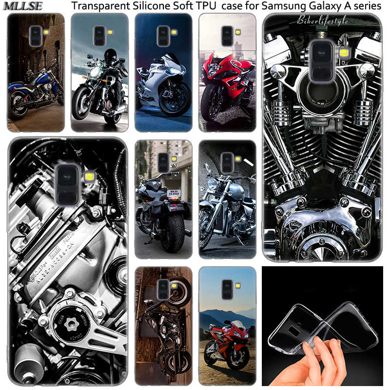 Hot Coolest Motorcycles Silicone Case For Samsung Galaxy A50 A30 A10 A40 A6 A8 Plus A20 E A5 A7 2018 2017 2016 Note 9 8 Cover