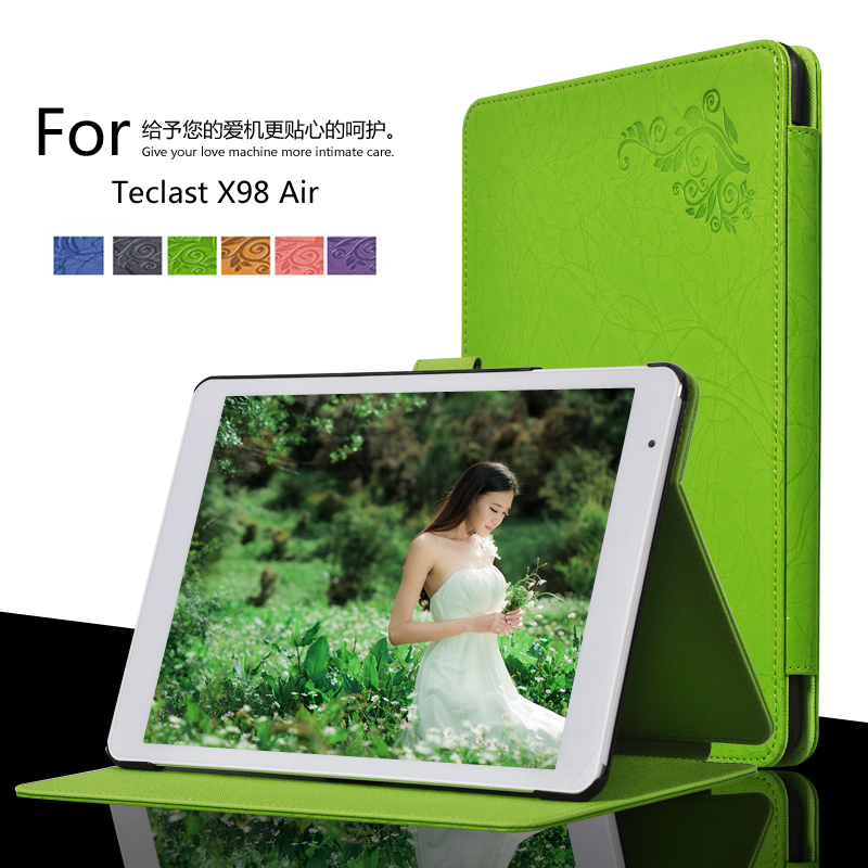 For Teclast X98 Air II /Teclast X98 Air 3G win8 9.7inch Tablet Printing Pattern Stand Cover Protective Print Flower Leather Case for onda v989 air v919 air v919 air ch 9 7 inch tablet printing pattern stand cover protective print flower leather case