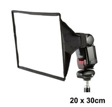 20×30 lambed коробка вспышка softbox flash диффузоры измерение: 20*30 см