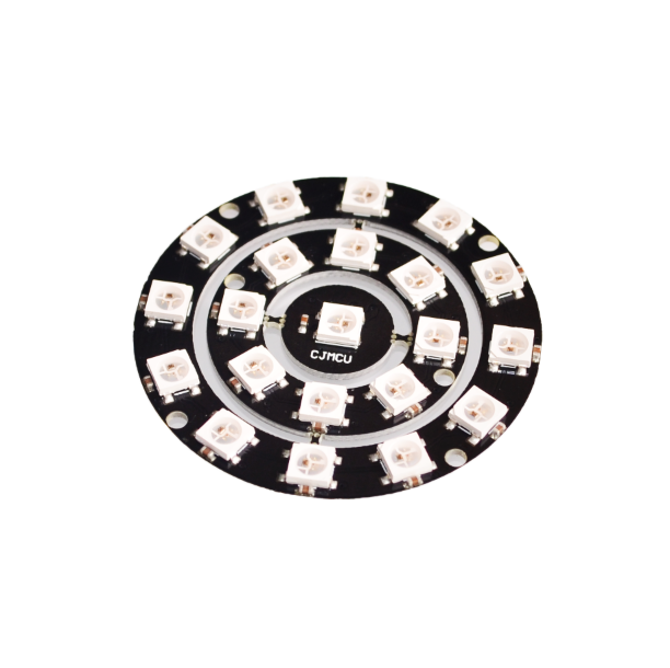 Trustful 10pcs/lot Rgb Led Ring 1/18/12 Bit Ws2812 5050 Rgb Led With Integrated Driver Drop Shipping Electronic Components & Supplies