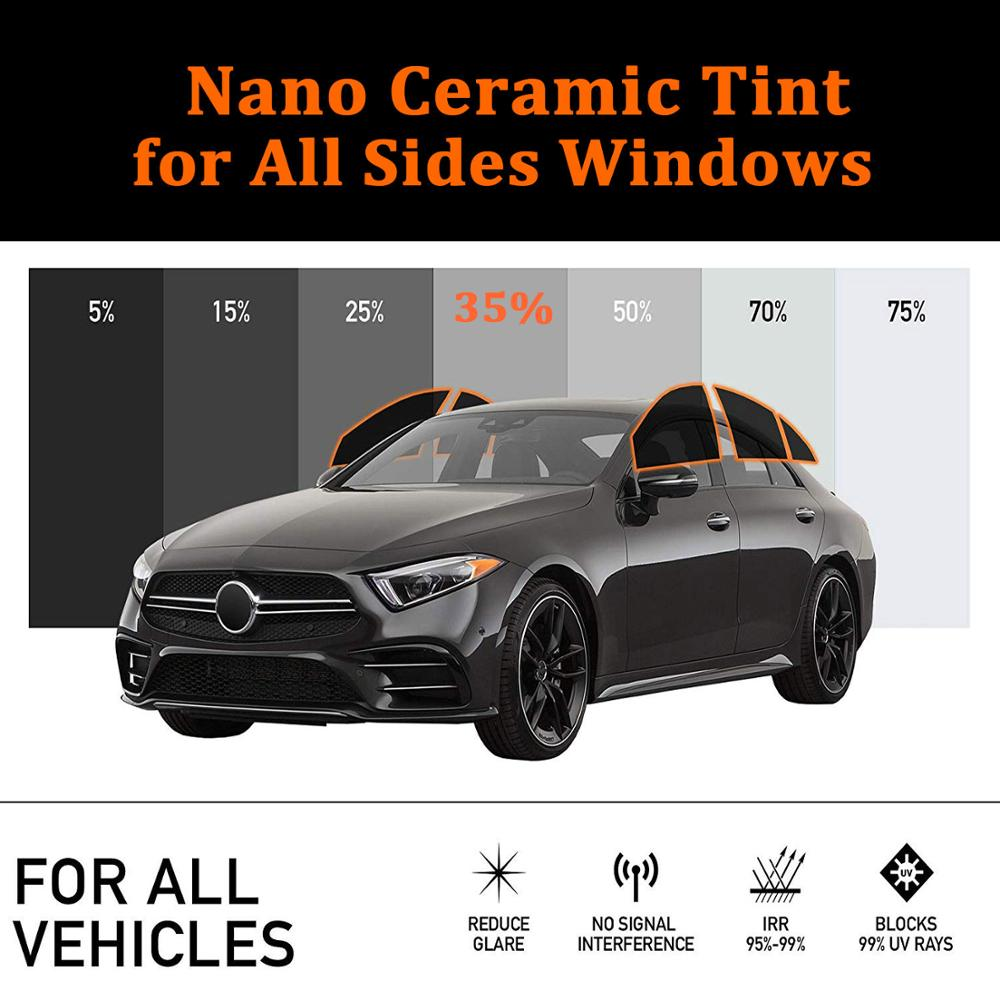 Smoke Tinted Window Film Light Privacy Tint 35/% up to 152 cm