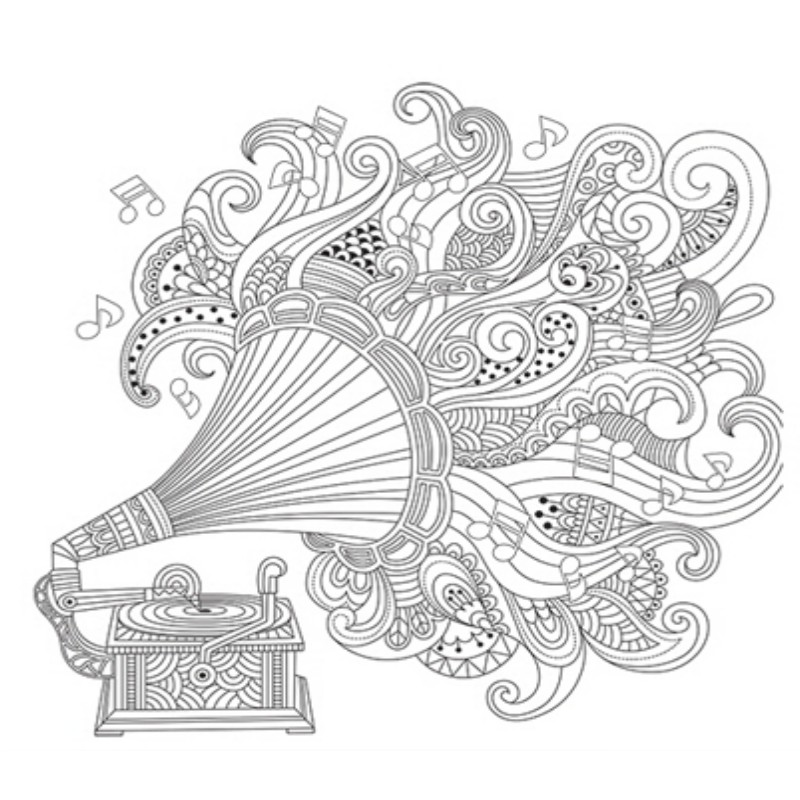 Beautiful Day Pregnant colouring books for adults Relieve Stress ...