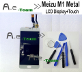 Meizu M1 Metal LCD Display+Touch Screen New New Digitizer Glass Panel Assembly For Meizu M1 Metal 1920x1080 FHD 5.5inch