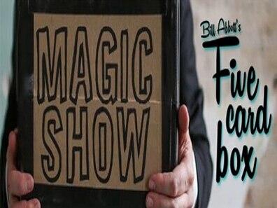 2015 boîte à cinq cartes par Bill Abbott-tours de magie