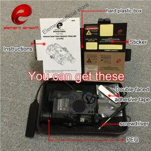 Image 2 - 要素airsof lazer LA 5C peq 15 uhp irグリーンレーザー懐中電灯softair戦術エアガンライフル銃武器狩猟