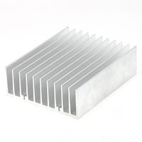 120mm X 45mm X 150mm Heatsink Heat Dissipation Aluminium Cooling Fin