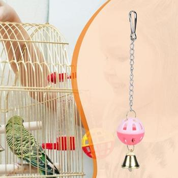 Loro juguetes mascotas pájaro periquito escalada morder colgante para morder campana giratoria juguete colgando cuerda huevo juguete único pájaro juguete mascota producto nuevo