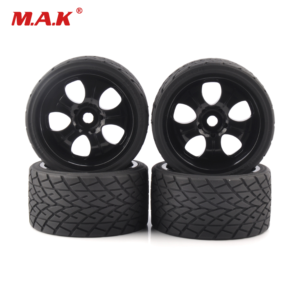 4 pz/set 17mm Hex 1:8 RC Monster Truck Su Ruote Da Strada 139mm 70mm Pneumatici per le Corse Rally auto Accessori Parti