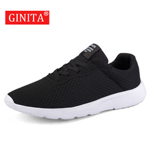 Buy 2019 Mesh Men Casual Shoes Lace up Men Shoes Lightweight Comfortable Breathable Walking Sneakers Zapatillas Hombre tennis Big 47 directly from merchant!