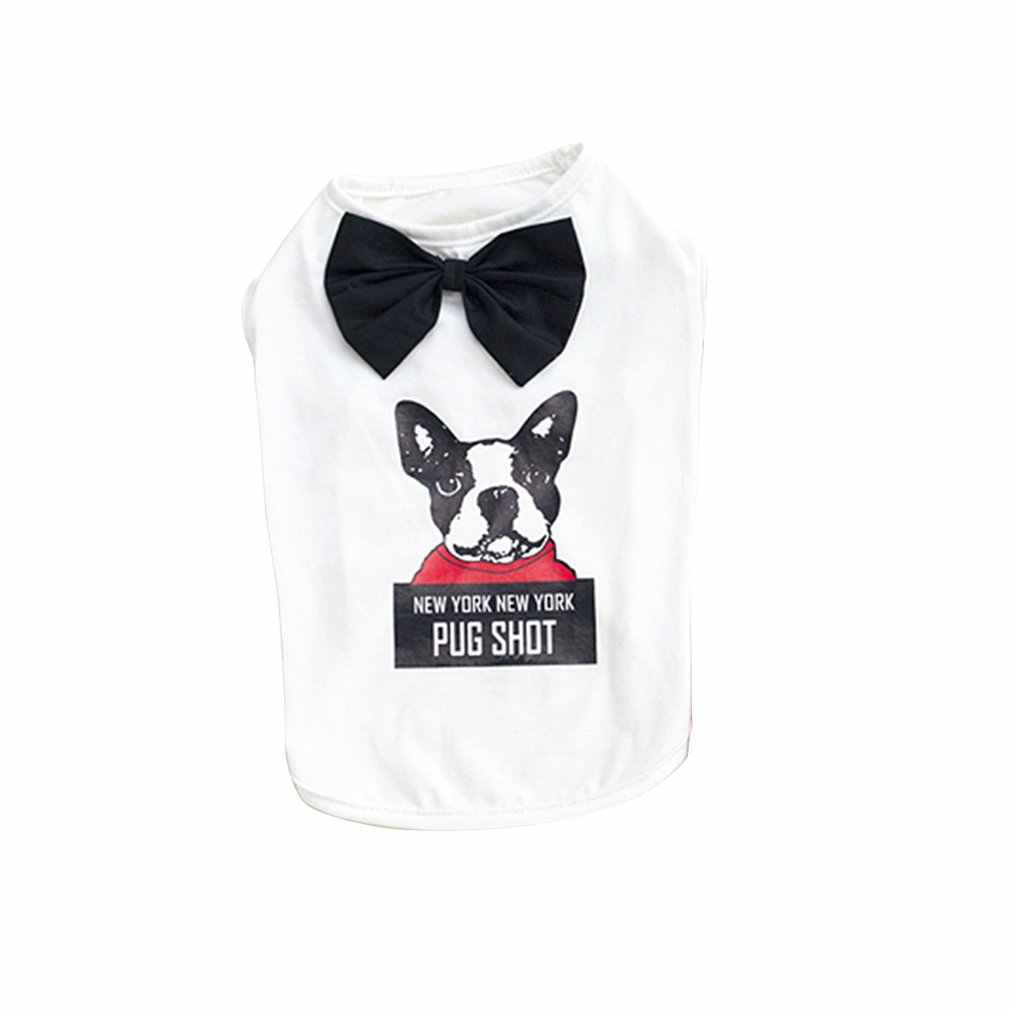 Dogbaby Pet Clothes Custom-Made Clothing Pet Clothing Classic Japanese And Korean Spring And Summer New Gentleman Dog Vest