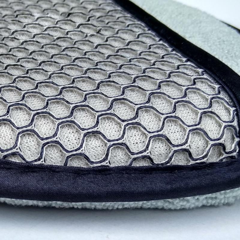 Image 5 - Microfiber Wax Applicator Car Sponge Car Finger Pocket Polish Sponge Suitable For Makeup Remover Polishing Pad Car Wash Care-in Sponges, Cloths & Brushes from Automobiles & Motorcycles